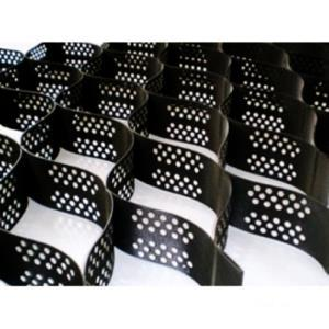 Объемная георешетка 3d10КВ.М (1,96*5,1М) черная