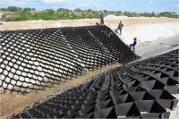 ОР/СО 10/210/т1,2 Георешетка для откосов полимерная 2,75*6М черная