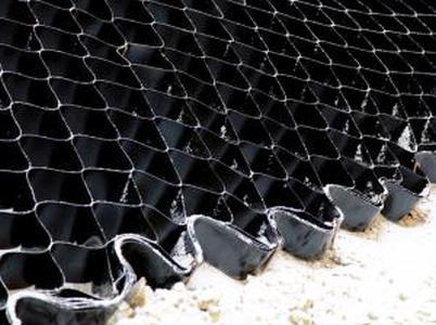ОР/СН 10/320/т.1,5 Полимерная объемная георешетка для укрепления откосов 2,95*7,3М черная