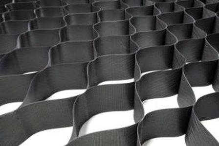 ОР/СН 10/320/т.1,5 пластиковая георешетка 2,95*7,3М черная