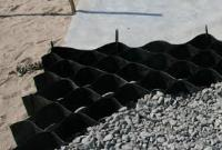 ОР/С-10/210/т.1,5  Пластиковая георешетка 2,75*6М черная высота 10 см