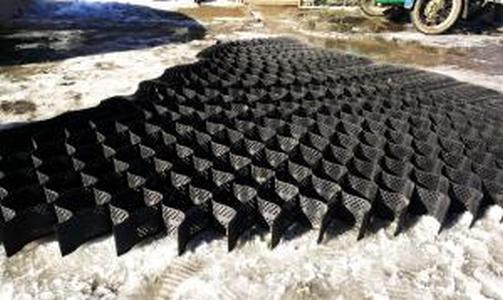 ОР/СО 15/210/т1,2 Полимерная объемная георешетка для укрепления откосов2,75*6М черная