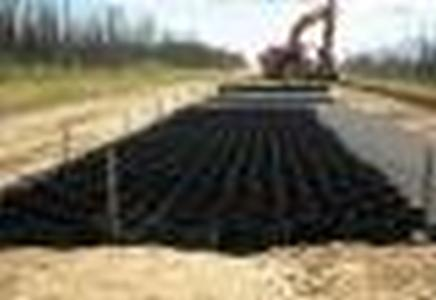 ОР/СН 15/160/т.1,5 СН Георешетка для откосов полимерная 2,4*5,25М черная высота 15 см