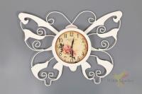 Часы настенные 56*40 см. диаметр циферблата= 20см