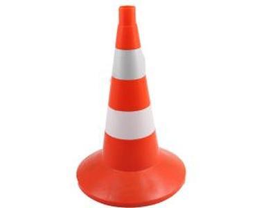 Конус дорожный сигнальный 750мм оранжевый комбинированный