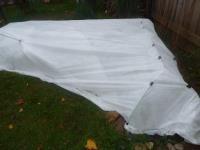 Нетканый укрывной материал белый 1,6*50м 70гр