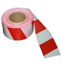 Лента сигнальная оградительная Эконом 250 п.м 75мм красно-белая