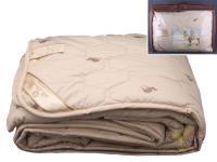 Одеяло 200*220 верблюжья шерсть, верх-тик х/б