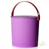 Ведро-стульчик BAMBINI 10 л, фиолетовое