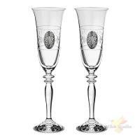 Набор бокалов для шампанского из 2 шт.