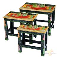 Набор из консольных столиков из 3 шт.17*33*31/24*40*34/30*46*36 см