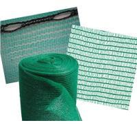 Защитная сетка для строительных лесов(4Х50М) 35Г/М2темно-зеленая