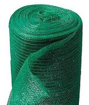 Сетка фасадная защитно-декоративная (4Х50М) 35Г/М2 темно-зеленая