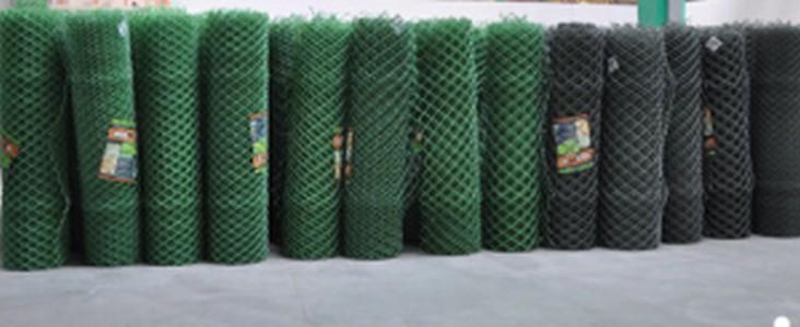 Сетка пластиковая садовая 1,2*10М зеленая