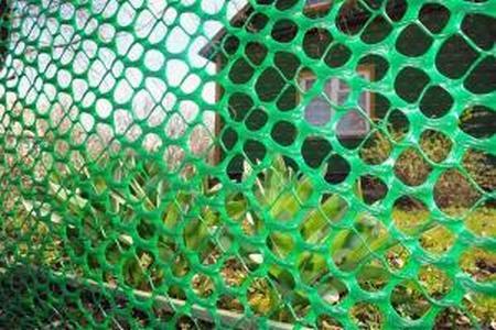 Пластиковая сетка для забора 1,2*10М хаки
