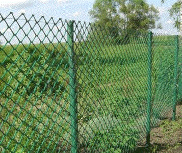 Сетка пластиковая садовая 1,5*10М хаки, ячейка 40*40