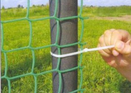Пластиковая сетка для забора 1,5*10М зеленая