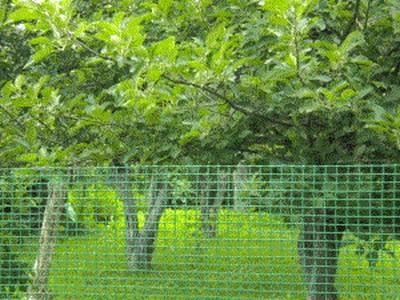 Сетка пластиковая садовая 1,5*10Мзеленая
