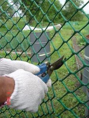 Сетка для ограждения пластиковая 1,5*10М зеленая