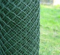 Пластиковая сетка для забора 1,9*10М зеленая