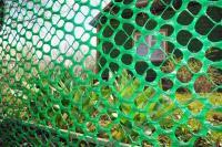 Забор садовый пластиковый 1,9*10М зеленый