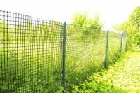 Решетка пластиковая садовая для беседки 18*18ММ 1,6*15м хаки