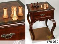 Шахматный стол с деревянными фигурками 53*53*75 см