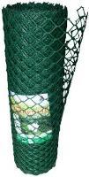 Забор садовый пластиковый 1,5*25м (Хаки) 40*40