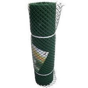 Забор садовый пластиковый 1,2*25М хаки