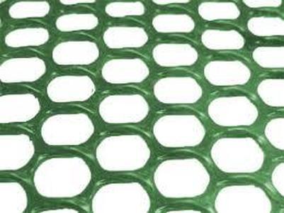 Сетка для ограждения пластиковая 1,5*25м (Зеленая)