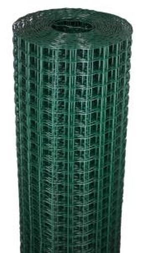 Забор садовый пластиковый 1,9*25М хаки