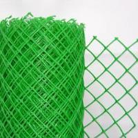 Забор садовый пластиковый 1,5*10М хаки 70*58