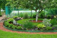 Пластиковые бордюры для садовых дорожек 10СМ, 10М хаки