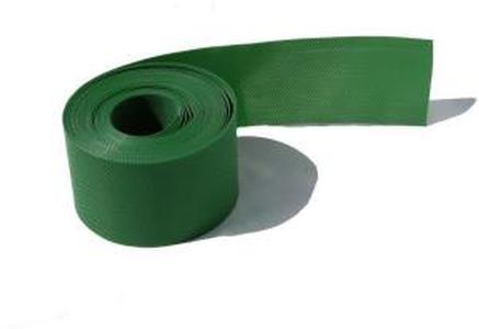 Пластиковый бордюр для дорожек 15СМ, 10М хаки