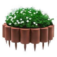 Декоративный пластиковый бордюр для клумб 1,6М