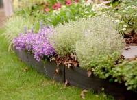 Лента бордюрная садовая 10М хаки