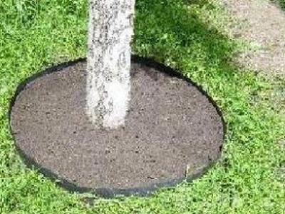 Лента бордюрная садовая 10СМ, 30М коричневая