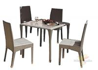 Садовая мебель: стул (50*43*89см)