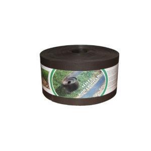 Пластиковый бордюр для дорожек 15СМ, 30М коричневый