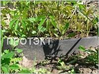 Лента бордюрная садовая 20СМ, 30М коричневая