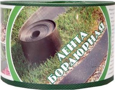 Пластиковый бордюр для газона 20СМ, 30М зеленый
