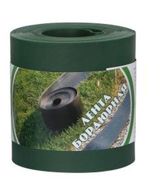 Пластиковый бордюр для дорожек 30СМ, 30М хаки