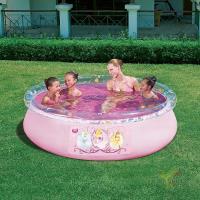 Бассейн круглый с надувным бортом