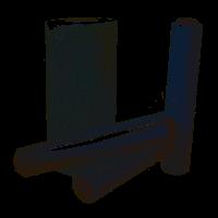 Стрейч пленка для ручной упаковки 0,45м 17 мк 1,6кг