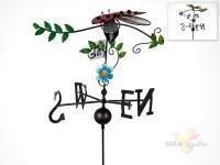 Фигура декоративная для сада (флюгер)