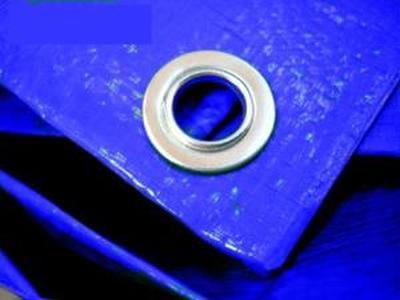 Тент строительный Тарпаулин 4Х5М 180Г/М.КВ синий