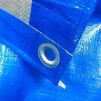 Тент строительный Тарпаулин4Х6М 180Г/М.КВ синий