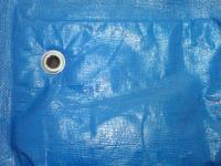 Полог Тарпаулин5Х6М 180Г/М.КВ синий