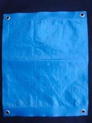 Тентовое полотно Тарпаулин6Х8М 180Г/М.КВ синее