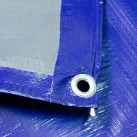 Тентовое полотно Тарпаулин8Х12М 180Г/М.КВ синее